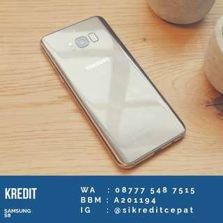 Samsung S8 Gold kredit atau cash bisa