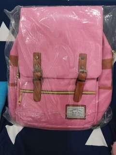 Backpack korean style with USB port