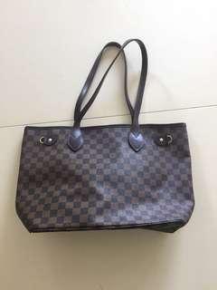 Vintage Louis Vuitton Neverfull MM Handbag