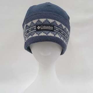 Columbia哥倫比亞刷毛拼接羊毛100%保暖帽美國戶外運動用品領導品牌尺寸:ONE SIZE FITS ALL