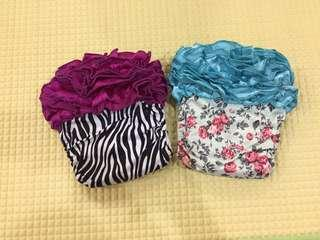 Ruffle Cloth Diapers