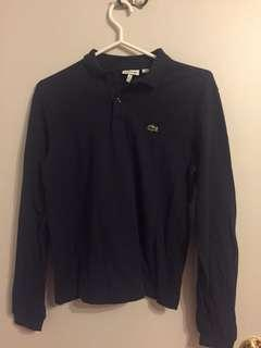 Navy Blue Lacoste Long Sleeve