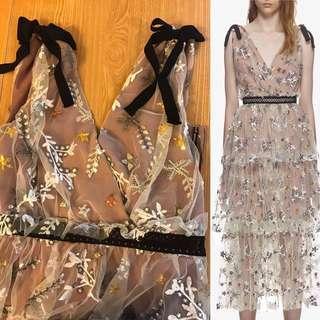 same Self-Portrait Dresses style Dress 晚裝一流 拆靚 wedding dress  party dress