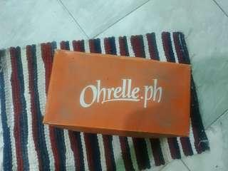 Pre loved Peep toe wedge used only once
