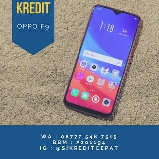 Oppo F9 4/64 kredit bisa