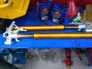 Ohlins fork apriia rsv4 factory aprc