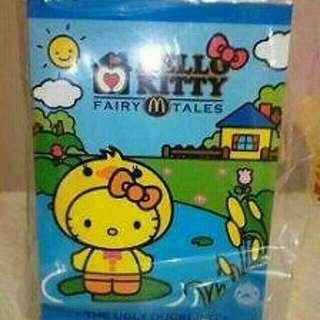 BNIB McDonald's Fairy Tales Ugly Duckling Hello Kitty Plush Toy #single11