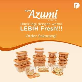 Azumi orange 18pcs