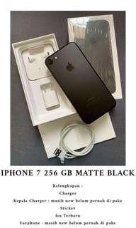 Iphone 7 256 GB Matte Black