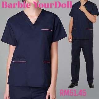 Summer V-Neck Hospital Medical Clothes Nurse Doctor