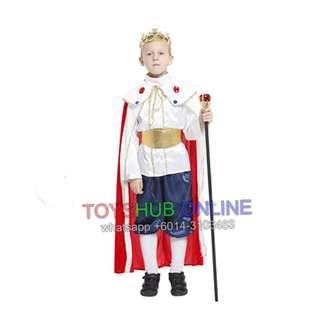 Little Prince/King Smart Costume Cosplay Boy Outfit Prince Lordliness King