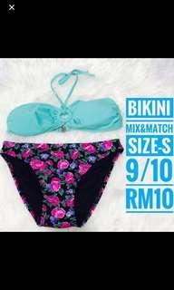 Bikini mix and match- fit till M
