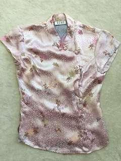 BCBG Chinese Style Blouse for Women (Size S)