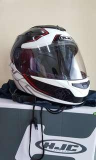 Helmet HJC full face CL ST 2 Black red line