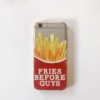 iPhone 6/6s Clear Fries Phone Case
