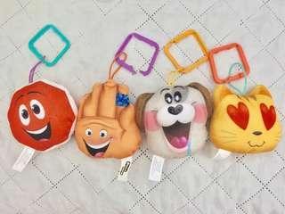 Plushie from the Emoji Movie