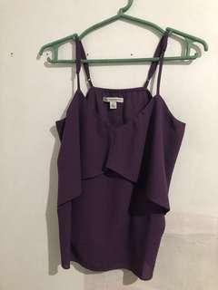 Purple spag strap