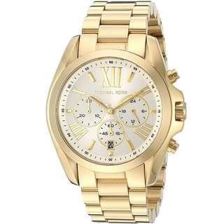 🚚 Michael Kors Oversize Bradshaw Quartz Chronograph MK6266 Unisex Watch