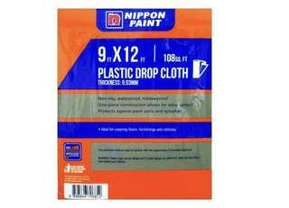 Nippon Paint DropCloth 9X12FT