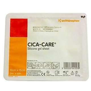 🚚 Cica-Care Silicone Gel Sheeting 12cm x 15cm by Smith and Nephew