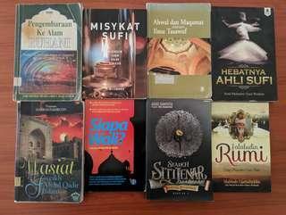 Pelbagai Buku Sufi dan Tasawuf