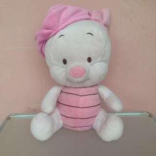 Boneka Baby Piglet Topi Pink - Disney Baby Original