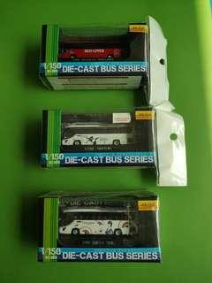 Popondentta 1:150 Die-cast bus series