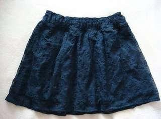 全新正品 A&F Abercrombie & Fitch 浪漫刺繡短裙    ※TEN101Q※