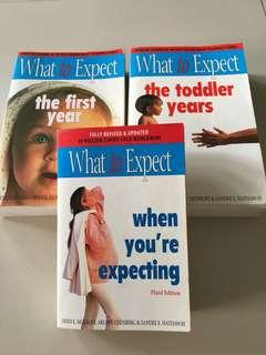 What to Expect series (Set of 3 books)