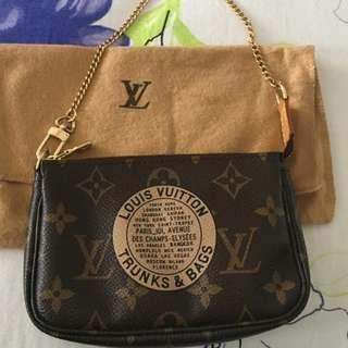 Louis Vuitton Limited Monogram Mini Accessories Pouch