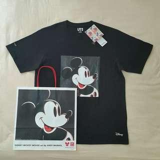 Uniqlo X Mickey Mouse Art by Andy Warhol T-shirt