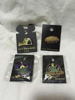 ($50@4) 迪士尼襟章 舊襟章(Disney Pin USA/Japan Pin collection)