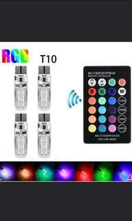 4x T10 LED Car Lights