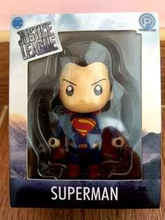 Superman mini figure 超人q版模型擺設 DC justice league 正義聯盟