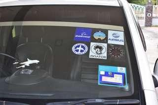 Aviators stickers