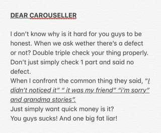 TO ALL LIARS IN CAROUSELL