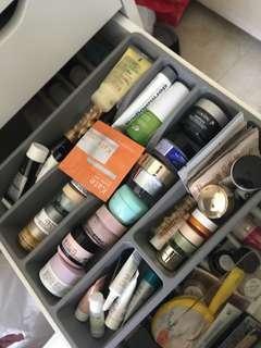 Moisturisers, Eye creams and serums