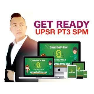 Learn Online UPSR PT3 SPM Vschool Trend Online Education for Children