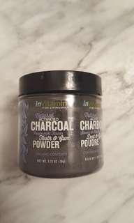 Tooth whitening charcoal powder