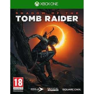 (預訂) X1 XBox One X 古墓奇兵: 暗影 (歐版, 中文/英文) - Shadow of the Tomb Raider 蘿拉 盜墓者 求生 歷史 傳說 解謎