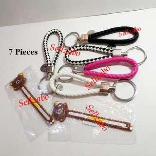 $12 For All ≈ 7 Pieces Bundle Cord Organisers & Keychains Misc Miscellaneous