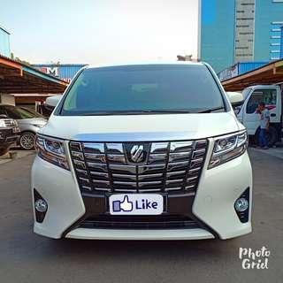 Toyota alphard x alles 2.5 2015 putih matic TERmurah