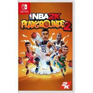 (全新) NS Switch NBA 2K Playgrounds 2 (行貨, 中文/英文) - 街頭籃球 街場 打籃球 打波 籃球隊
