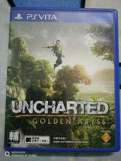Uncharted golden abyss (psvita) (used)
