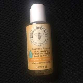 Burt's bee 嬰兒shampoo