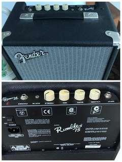 Give away - amplifier plus cables