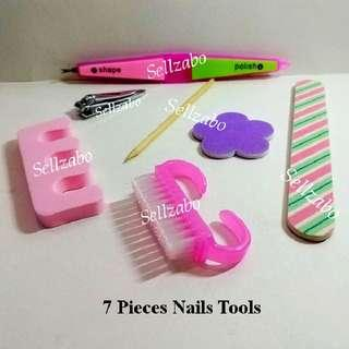 $10 For All ≈ 7 Pieces Bundle Nails Tools Care Miscellaneous Misc