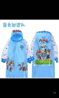 Po Kids raincoat brand new suitable for 3yrs and up design -paw patrol /frozen/Super wings /Minnie's / Thomas n train and etc pm for details