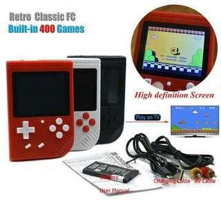 Portable mini retro FC Handheld game