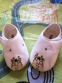 White canvas PitterPat shoes